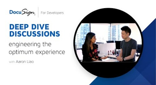DocuSign Developer: Engineering the Optimum Experience