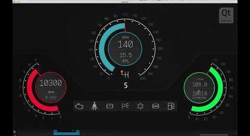 小课堂 | 如何用Qt Design Studio打造汽车仪表盘(第五部分)