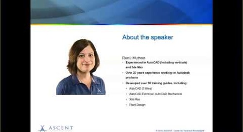 ASCENT Webcast: Object Information in AutoCAD 2020