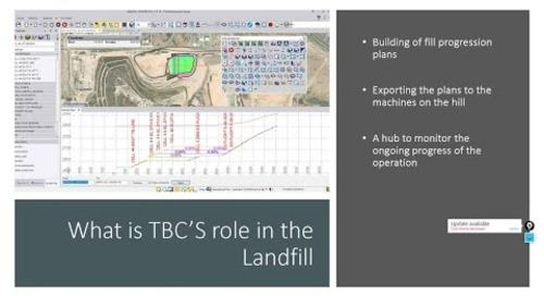 Trimble Business Center Power Hour - Using TBC & WorksManager/WorksOS to create Landfill Solution