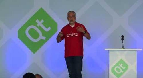 QtS16- Inspiration Spotlight: Interfaces (VR), Andrej Zdravkovic, AMD