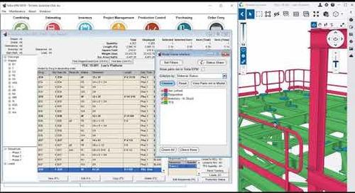 Trimble Connect as the Tekla EPM Production Control Model Viewer