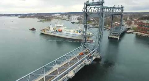 Project highlight: Cables and Cable Carriers on the Memorial Bridge, Portsmouth, NH