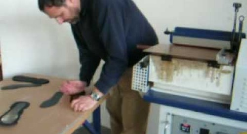 Hot Melt Adhesive System for Footwear and O&P - From Algeos