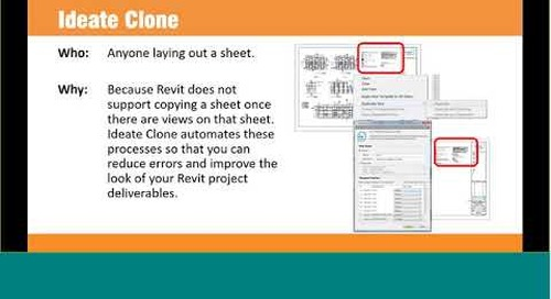 Automate Sheet and View Management with IdeateApps