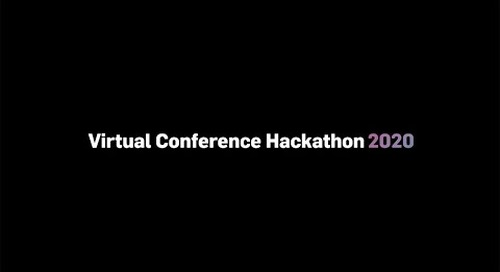 2020 Conference Hackathon Reveal