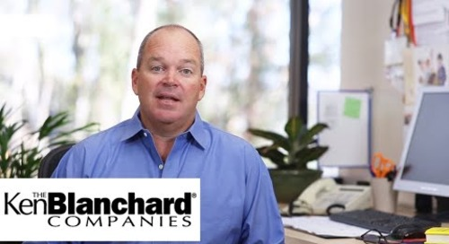 #FirstTimeManager - Scott Blanchard's Dinner Table Story | Ken Blanchard Companies