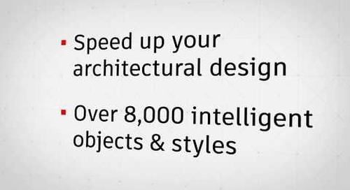 Work Faster with the Architecture toolset | AutoCAD