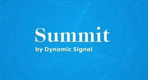 Summit by Dynamic Signal 2019  (Keynote Intro)