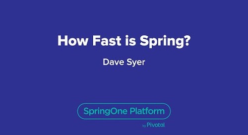 How Fast is Spring?
