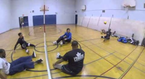 Sitting Volleyball - The Road to the Parapan Am Games 2015