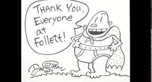 Follett Thank You- Captian Underpants
