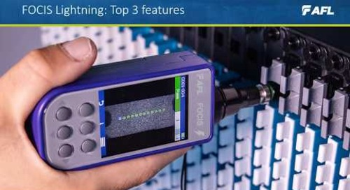 FOCIS Lightning®  Multi-Fiber Connector Inspection System