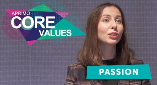 Aprimo's Core Values - Passion