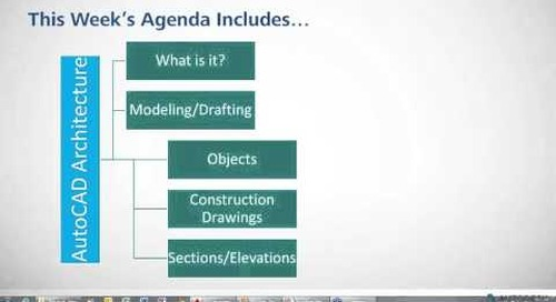Tips & Tricks: Introduction to AutoCAD Architecture