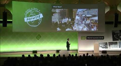 QtWS18 Keynote – webOS to open source & beyond by Joseph Park & Sunghyun Cho, LG Electronics