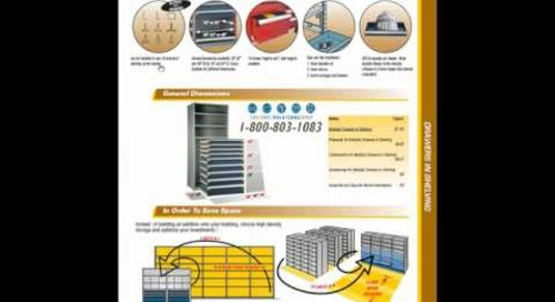 Drawers In Racks and Shelving To Increase Storage Ph 800-803-1083
