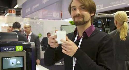 Witekio's Touchscreen Coffee Machine UI Built with Qt Quick {showcase}