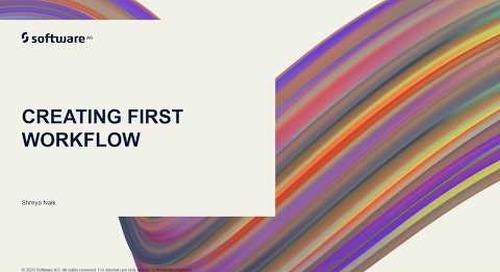Creating First Workflow | webMethods.io Integration Tutorials