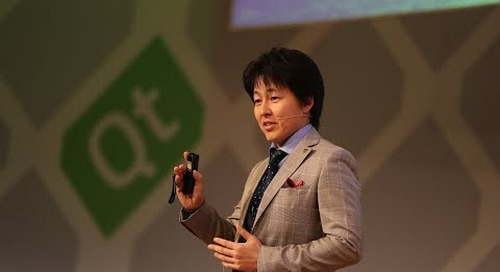 Panasonic ITS – Future of Vehicle HMI Systems, Takayuki Tanabe at QtWS17