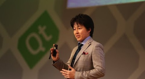 Panasonic ITS – Future of Vehicle HMI Systems, Takayuki Tanabe at QtWS17