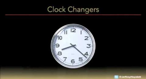 Jeffrey Hayzlett - Be A Clock Changer (DocuSign Momentum 2012)