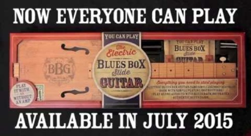 Blues Box Guitar teaser