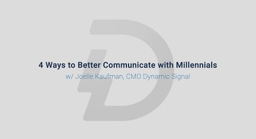 4 Ways to Better Communicate with Millennials