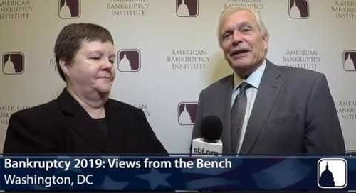 Laura Davis Jones Interview at 2019 ABI Views from the Bench Program