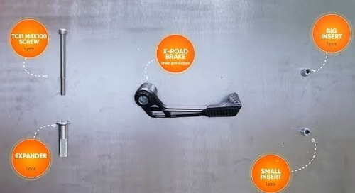 X-ROAD BRAKE LEVER PROTECTION - Installation Guide