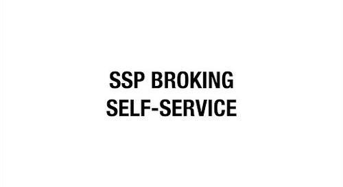 SSP Broking Self-service