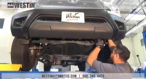 Installation of Sportsman Grille Guard on Toyota Tacoma