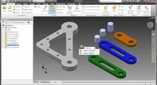 Inventor 2011 - Assembly Enhancements