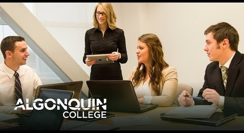 Business Marketing Webinar - Algonquin College