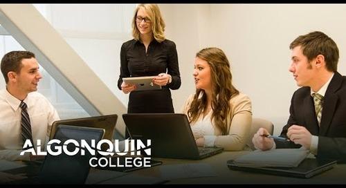 Business Marketing Webinar - Algonquin College