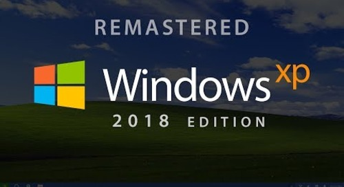 Designer beautifully reimagines Windows XP for 2018