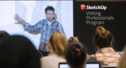 SketchUp Visiting Professionals Program at Virginia Tech