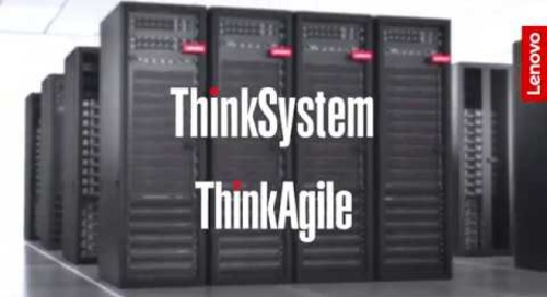 Lenovo ThinkSystem and ThinkAgile Data Center Solutions