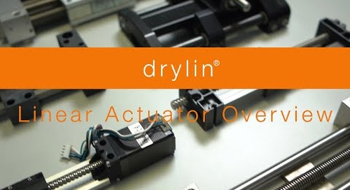 drylin® linear actuators - Overview