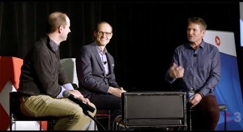 Keynote Retail Panel at Dx3 2016 featuring Fluid AI, Softbank Robotics