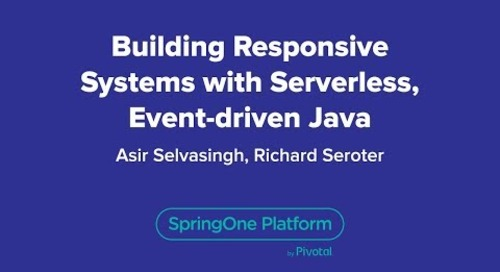 Building Responsive Systems with Serverless, Event-driven Java