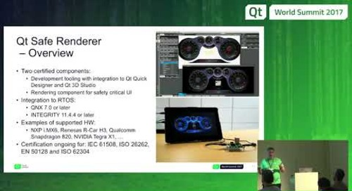 QtWS17 - Functional safety with Qt and Qt Safe Renderer, Tuukka Turunen, The Qt Company