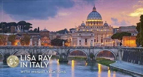 Spotlight: Lisa Ray in Italy with Insight Vacations