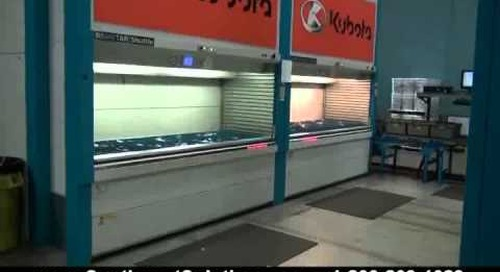 Automated Horizontal Carousels Motorized Spinning Wire Shelves with Inventory Management Software