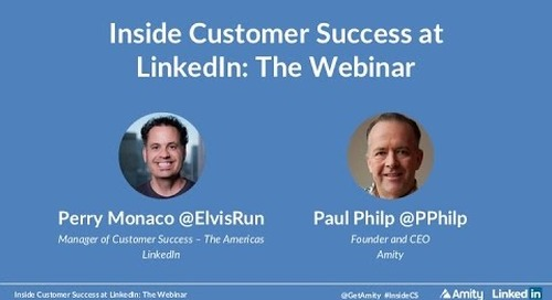 Inside Customer Success at LinkedIn: The Webinar