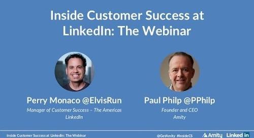 Inside Customer Success at LinkedIn: The Webinar