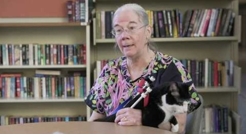 Meet Scooter: Pittsburgh therapy cat and former ASPCA cat of the year