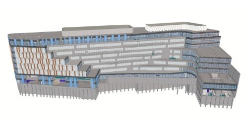 Tekla BIM Awards France 2020 : GA - Safran Malakoff