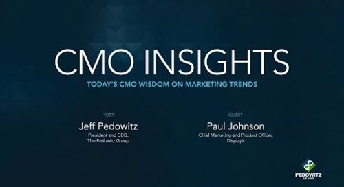 CMO Insights: Paul Johnson, CMO for Displayit