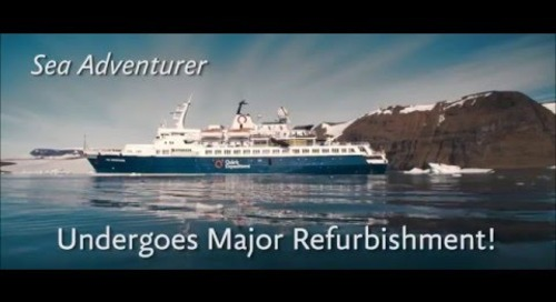 Arctic 2017: Sea Adventurer undergoes major refurbishment!